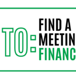 How to find a meeting in a financial sector